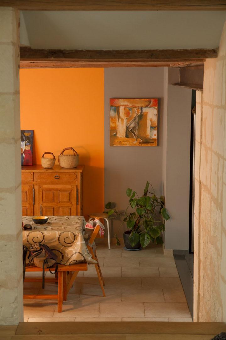 Mise en couleurs d'une maison - La Fabrique Geneviève Naudin