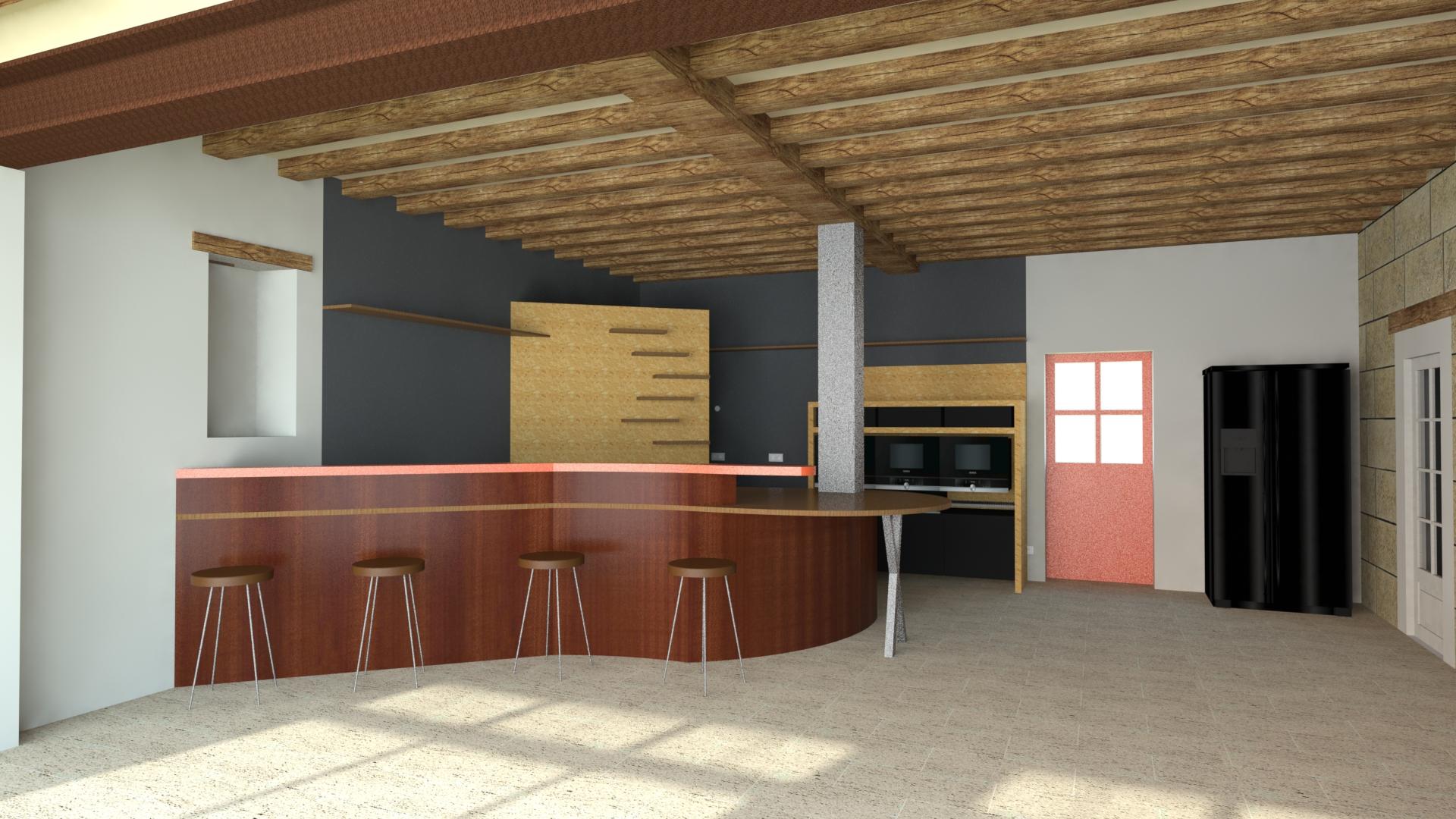 Création d'une grande cuisine - La fabrique Geneviève Naudin