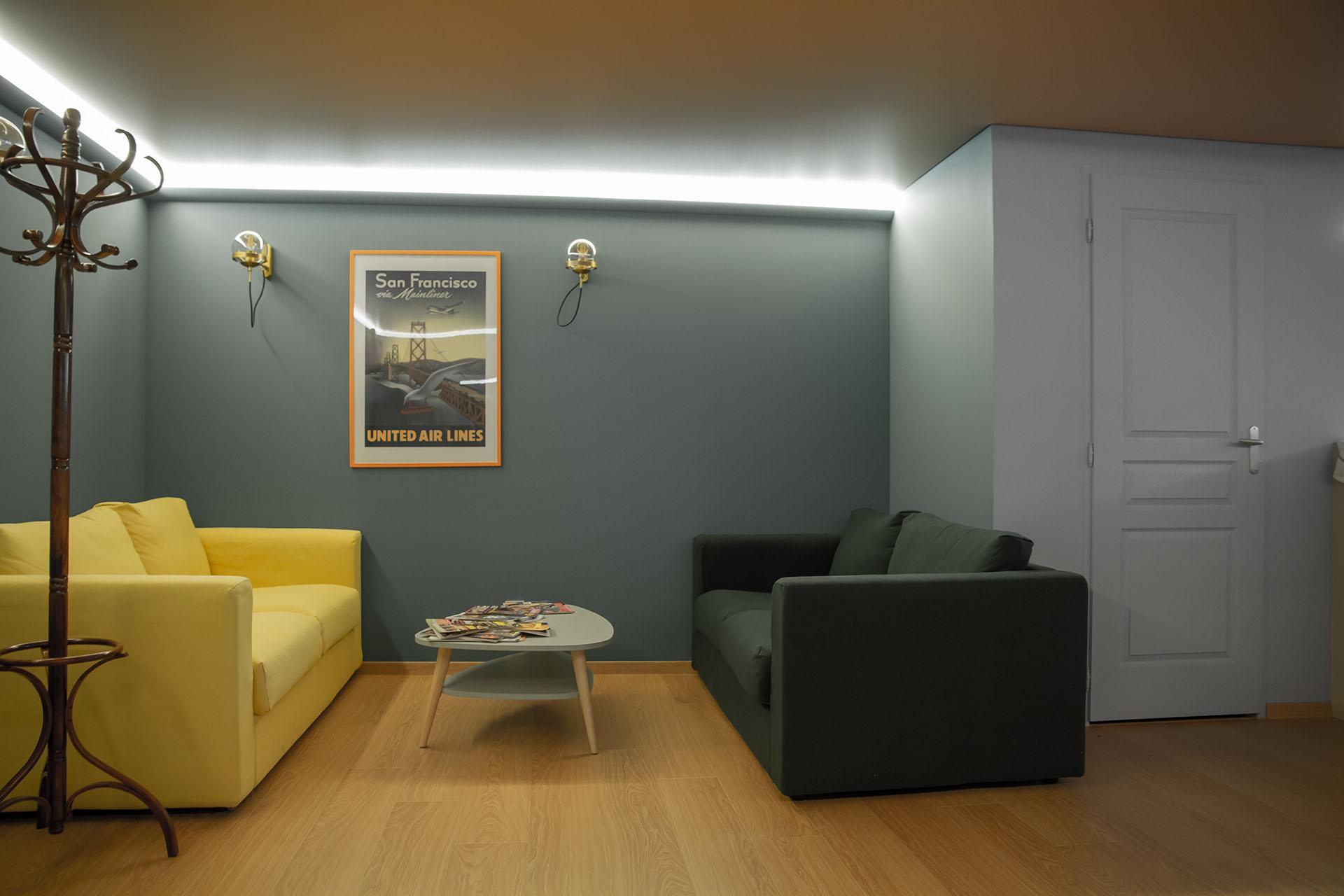 Le Lounge - Création La Fabrique Geneviève Naudin