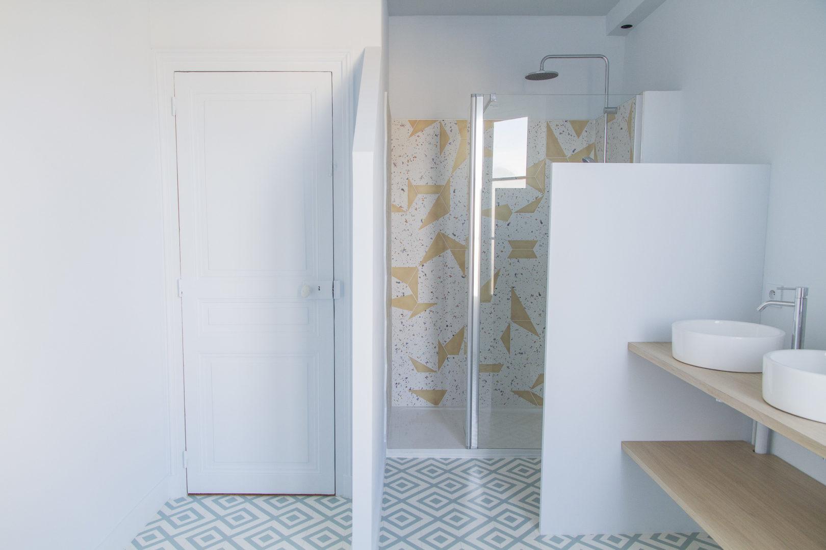 La Fabrique Geneviève Naudin - Rénovation d'une salle d'eau